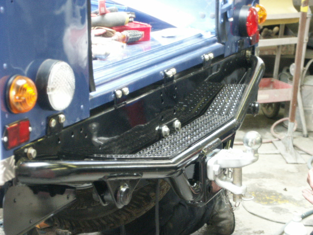 Nas Rear Step Bumper International Forum Lr4x4 The